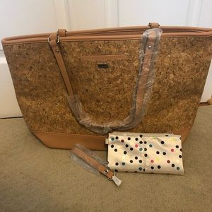 Thirty-One | Cork Style Setter Tote